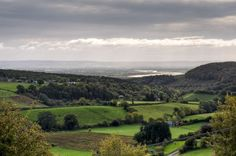 "The Severn Valley seen from ""Plump Hill,"" Gloucestershire, England"