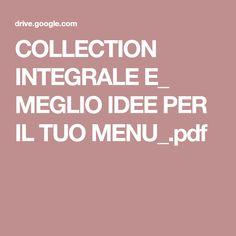 COLLECTION INTEGRALE E_ MEGLIO IDEE PER IL TUO MENU_.pdf