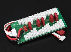 Parallel charging Board for 6 packs 2~6S (T Connector)