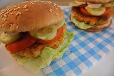 Zelfgemaakte visburgers