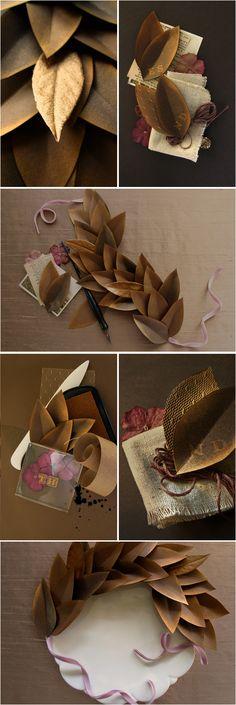 paper leaf tutorial http://www.projectwedding.com/wedding-ideas/diy-paper-leaves-inspiration