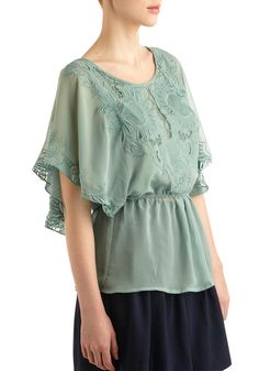 Flower Styled Top. Wishing I could just be a total hippy.