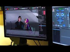 Disney's FROZEN - Computer Animation - Rigging and TONIC Hair Grooming - YouTube