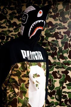f3b434c5800 A Bathing Ape ▻♢◅ Puma Bape Wallpapers, Best Street Outfits, Bape Outfits