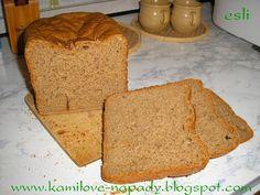 Špaldovo - ražný chlieb z pekárničky - recept pro domácí pekárnu
