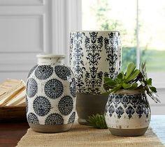 Lilian Vase #potterybarn