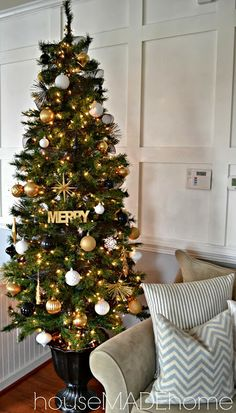 a modern glam christmas home tour themed christmas trees christmas tree wreath christmas mantels
