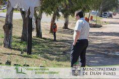 Así Somos: El intendente Raúl Figueroa supervisó los trabajos...