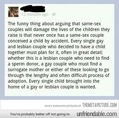 Truth about gay couples…