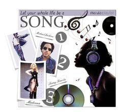 """MY Music Playlist"" by meyli-meyli ❤ liked on Polyvore featuring art and musicplaylist"