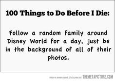 Things to do before I die…