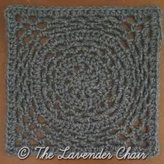 Ring Around the Rosie Square - Free Crochet Pattern - The Lavendere Chair