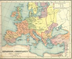 """On July Patriarch of Constantinople Michael Cerularius was excommunicated, starting the """" that created the two largest denominations in Christianity—the Roman Catholic and Eastern Orthodox faiths. Old Maps, Antique Maps, Isaiah 65, Where Are We Now, National Geographic Society, Roman Mythology, European History, 14th Century, Roman Catholic"""