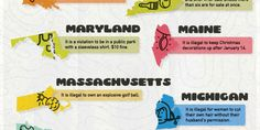 Craziest Laws in the U.S. by State—Weird Outdated Laws in the ... Funny Laws, In Laws Humor, Weird Laws, Florida Law, State Law, Hobbies And Interests, Pick Up Lines, Dumb And Dumber, Stupid