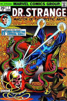 Doctor Strange Issue Number 1 Cover 1974