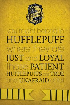 1000 images about hufflepuff on pinterest badger hogwarts houses and proud to be. Black Bedroom Furniture Sets. Home Design Ideas