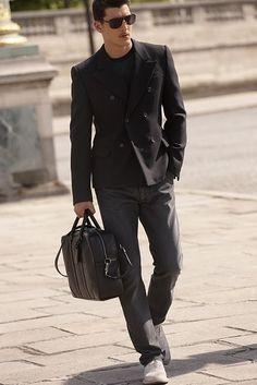 louis vuitton damier infini collection. mens fashion