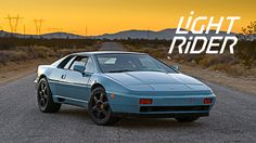 """""""The Esprit is not a well-known car,"""" says Spencer Canon. """"Car guys know what it is, but they don't know much about it—it's a mystery."""" Canon's profession as..."""