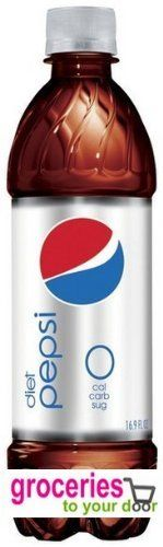Pepsi Cola, Diet, 24 oz Bottles (Pack of 18) >>> More info could be found at the image url.