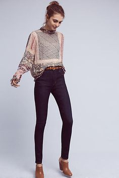 Citizens of Humanity Carlie High-Rise Skinny Jeans - anthropologie.com