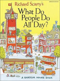 Richard Scarry books (and I think I even had placemats too) - still awesome. :)