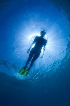 Snorkeling...