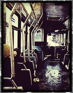 On the bus home
