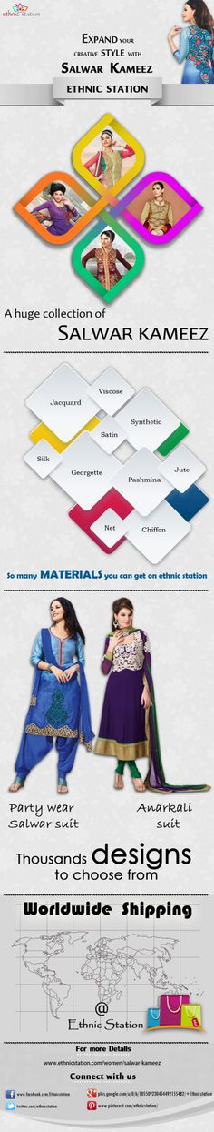 EthnicStation, The Leading Online Retailer for Stunning Designer Etnnic Salwar Kameez Collection Is Offering The Best Price, Outstanding Support and Free Shipping. Shop Today @ http://www.ethnicstation.com/women/salwar-kameez