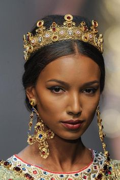 Jasmine Tookes - Dolce & Gabbana.