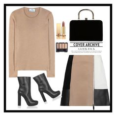 """""""Untitled #489"""" by jovana-p-com ❤ liked on Polyvore featuring Prada, Alexander Wang, Marni, Boohoo and Yves Saint Laurent"""