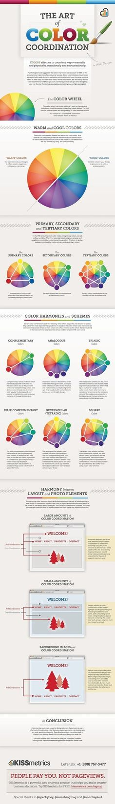 Color Is MASTER of Us All [Infographic] (trending on Scoopit today)