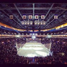 Scottrade Center, home of the Blues!
