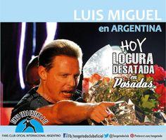 Tengo Todo Excepto a Ti, fans club oficial internacional Argentino- Esperando a Luis Miguel en Argentina- 21/10/14 gala La Rural -  23-/24+/25 de Octubre en GEBA Seguinos en Facebook:  https://www.facebook.com/pages/Tengo-Todo-Excepto-A-Ti/595464773913653