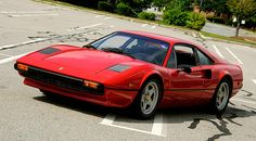 1977 Ferrari 308 GTB - A Ferrari is about the ONLY car you'll catch me in that would be red.