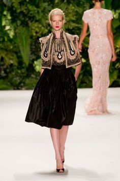 Naeem Khan - Mercedes-Benz Fashion Week Spring/Summer 2014