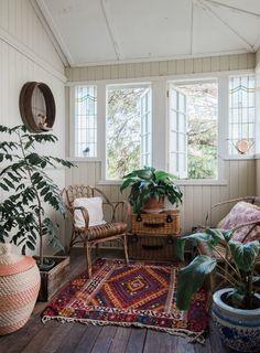 A Warm, Bohemian Country Style Australian Home
