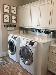 Wash Dry Fold Repeat Signs Laundry Room Sign Rustic Home image 1 Laundry Room Wall Decor, Laundry Room Remodel, Laundry Room Signs, Laundry Closet, Laundry Room Organization, Small Laundry, Laundry In Bathroom, Basement Laundry, Small Bathroom
