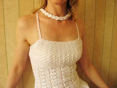 Soy Natalia, de Bielorrusia, participo en el concurso.  Este vestido igual como y el bañador estuvo en Montenegro. La parte de arriba del vestido hice...