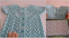 Crochet For Kids, Crochet Baby, Little Girl Dresses, Girls Dresses, Baby Images, Baby Vest, Crochet Fashion, Baby Knitting Patterns, Baby Kids