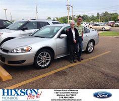 Congratulations to Hazel Holzem on your #Chevrolet #Impala purchase from Jim  McMechan at Hixson Ford of Monroe! #HixsonHasIt