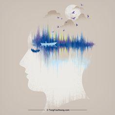 Art Ideas, Editorial, Sleep, Graphic Design, Illustrations, Abstract, Artist, Artwork, Work Of Art