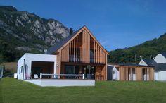 Maison d'habitation par Peretto & Peretto Architectes - Agos-Vidalos / Hautes-Pyrénées (France)