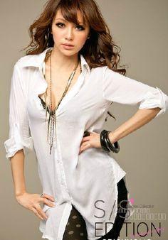 Sexy White Shirt 73