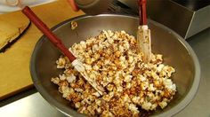 Prospect Popcorn. Watch video, the written directions are not correct.
