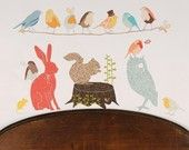 Reuseable fabric wall appliques