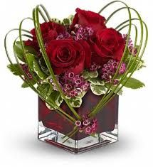 valentine day flowers for him