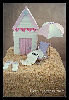 Beach Hut Cake | Flickr - Photo Sharing!