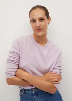 Camisola 100% caxemira - Cardigãs e camisolas de Mulher | Mango Portugal
