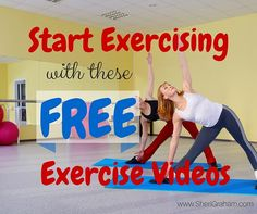 I was looking for some short exercise workouts to do to get me motivated. Look at what I found!