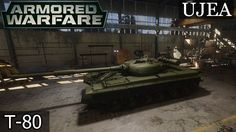 Armored Warfare: T-80 VII TIER gameplay pl